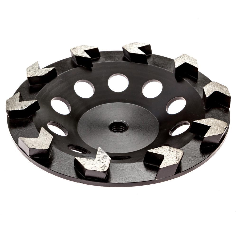 7 in. Arrow Diamond Grinding Cup Wheel