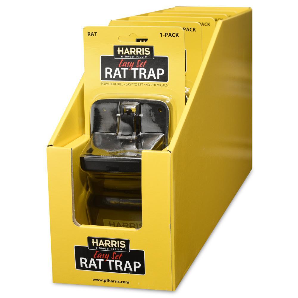 Reusable Plastic Rat Trap (12-Pack)