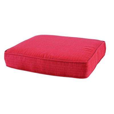 Middletown 19.5 x 20 Outdoor Chair Cushion in Standard Chili