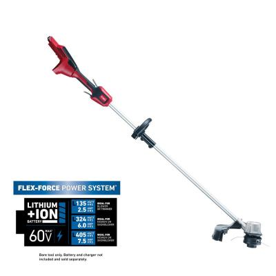 60-Volt Max Lithium-Ion Brushless Cordless 14 in. / 16 in. String Trimmer - Battery and Charger Not Included