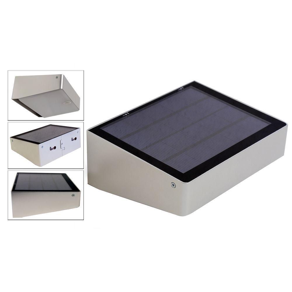 Eleding 180 Degree Solar Powered 53 Led Outdoor Compact