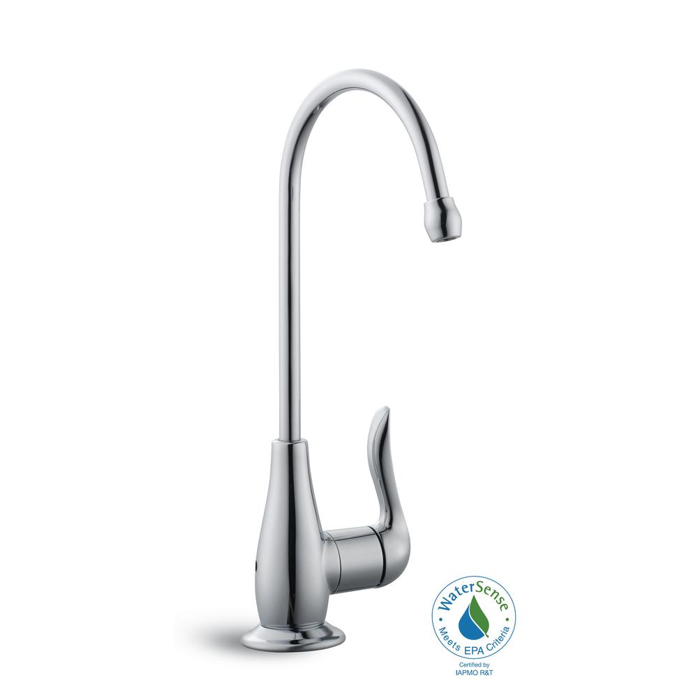 Single-Handle Replacement Water Filtration Faucet in Chrome