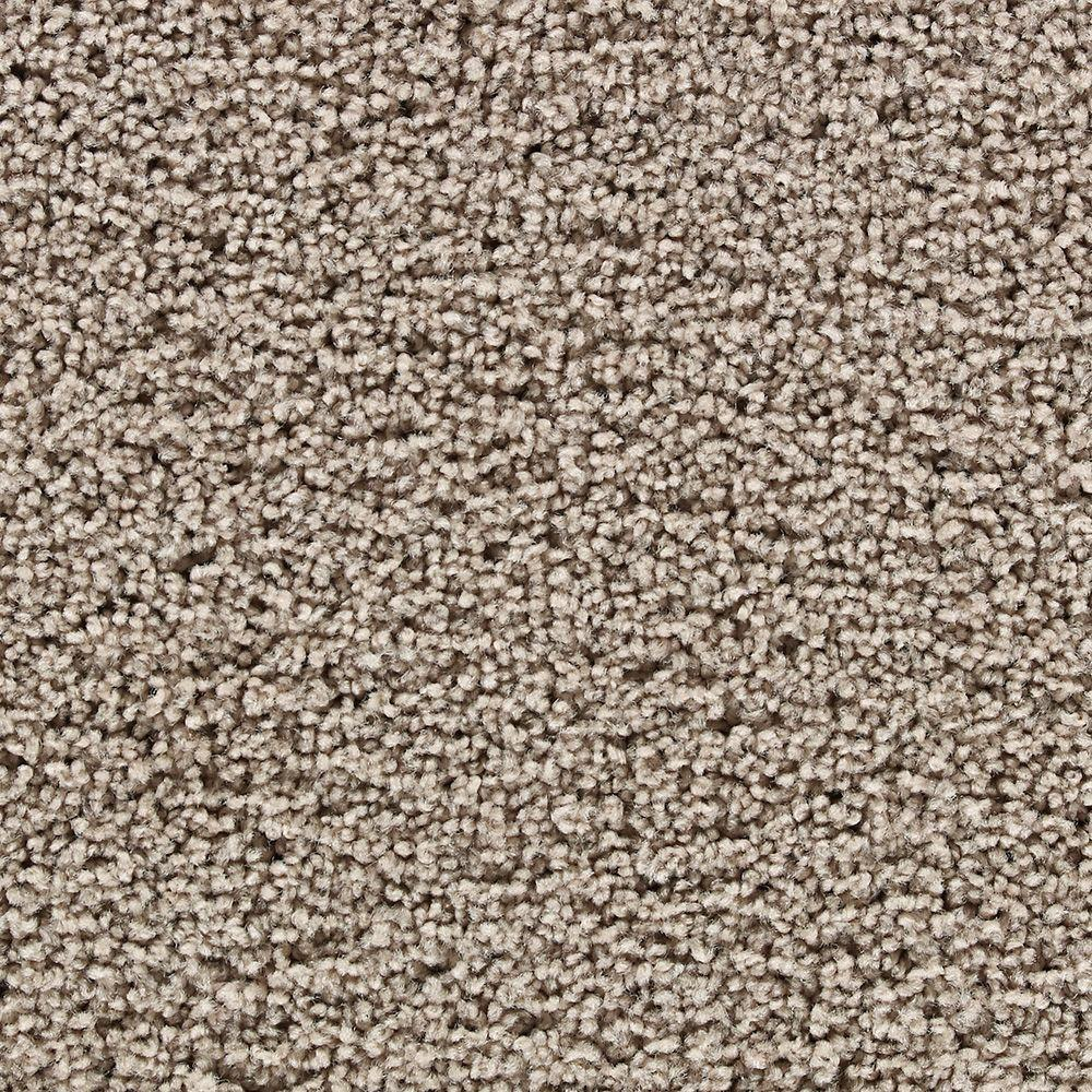Martha Stewart Living Boldt Castle Gray Squirrel - 6 in. x 9 in. Take Home Carpet Sample-DISCONTINUED