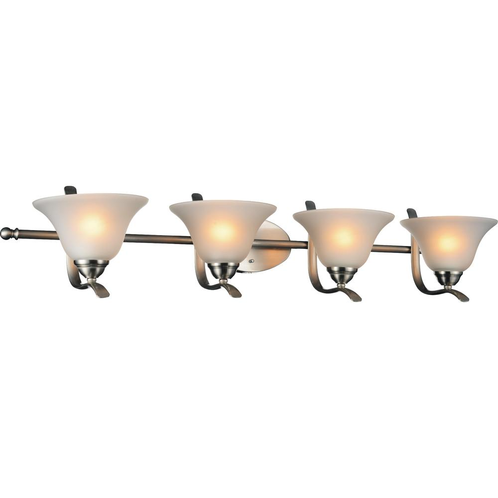 CWI Lighting Cosmo 4-Light Satin Nickel Sconce