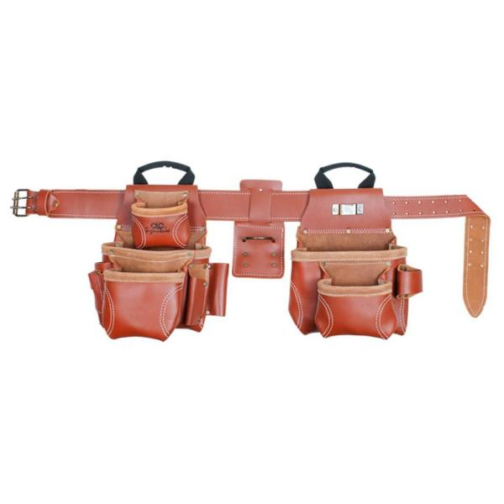 15-Pocket 4-Piece Pro Framer's Combo System Tool Belt