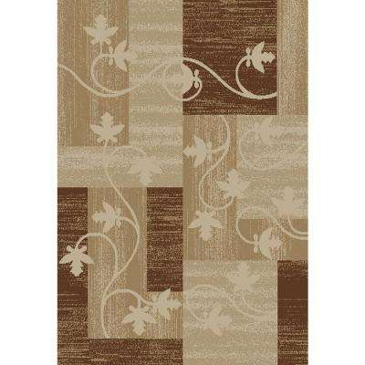 Pasha Collection Ivory 5 ft. x 7 ft. Area Rug