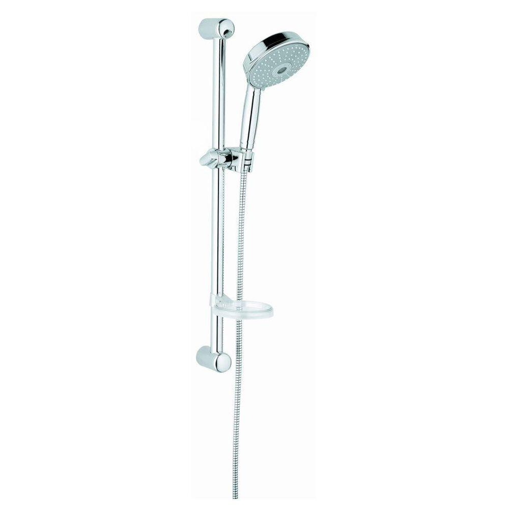 GROHE New Tempesta 2-Spray Hand Shower in StarLight Chrome-2759700E ...