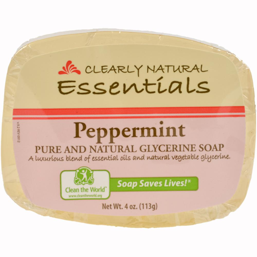 4 oz. Glycerin Bar Soap Peppermint (Pack of 12)