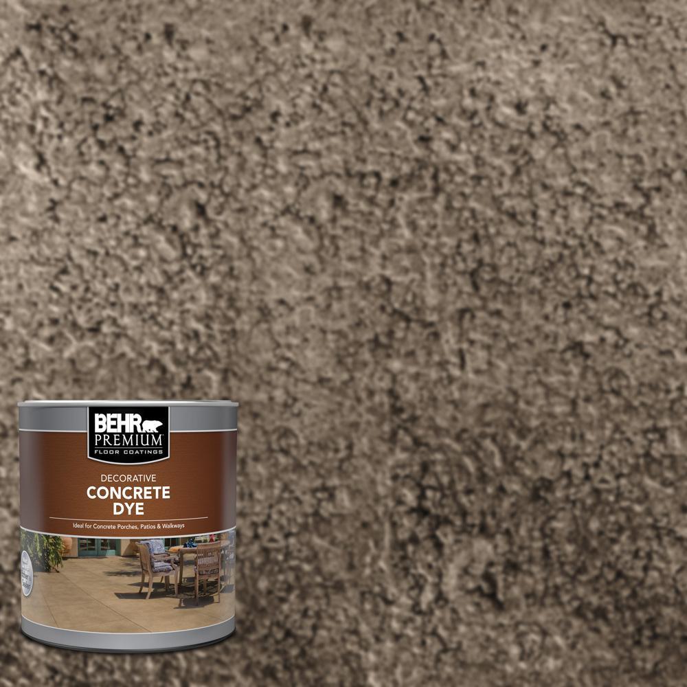 BEHR Premium 1 qt. #CD-834 Brownstone Interior/Exterior Concrete Dye