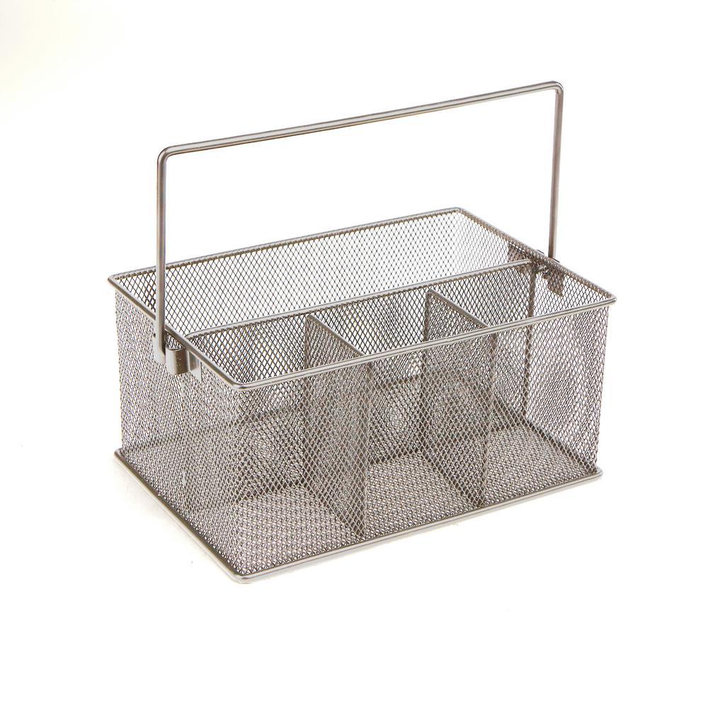 Home Kitchen Dishwasher Utensil Cutlery Basket Holder Storage Organizer