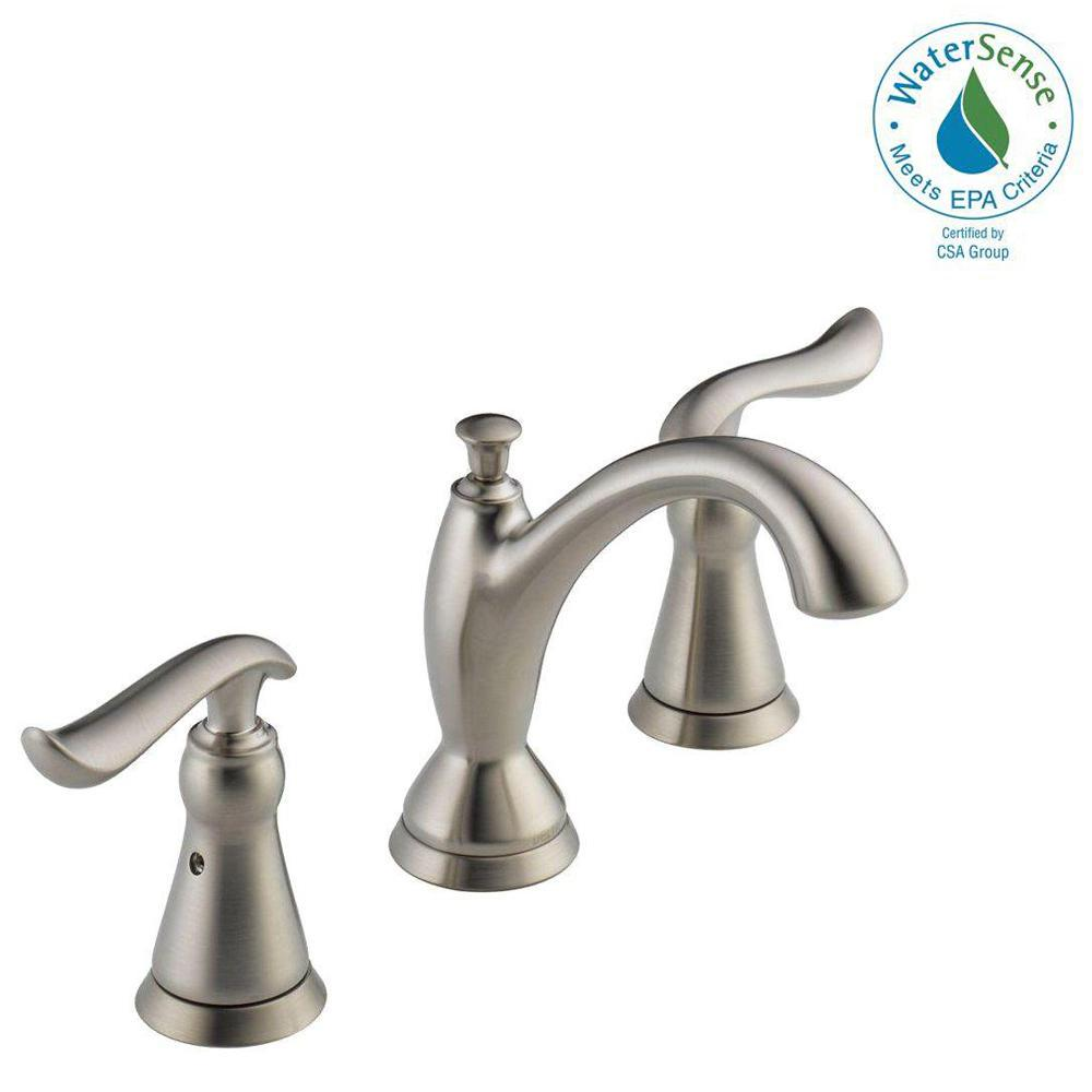 Delta Windemere 8 in. Widespread 2-Handle Bathroom Faucet with ...