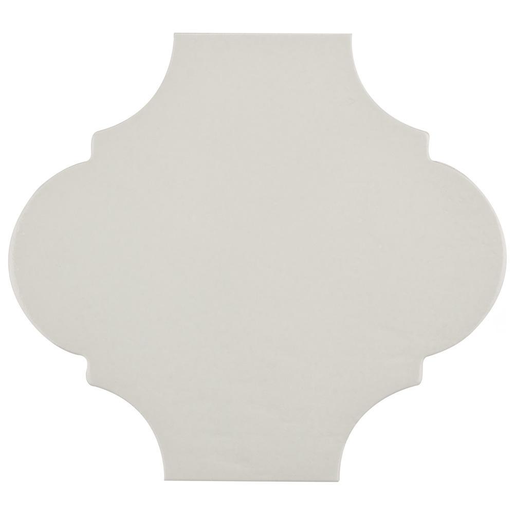 Merola Tile Mare Nostrum Provenzal Ibiza 10-3/8 in. x 11-3/8 in. Porcelain Floor and Wall Tile