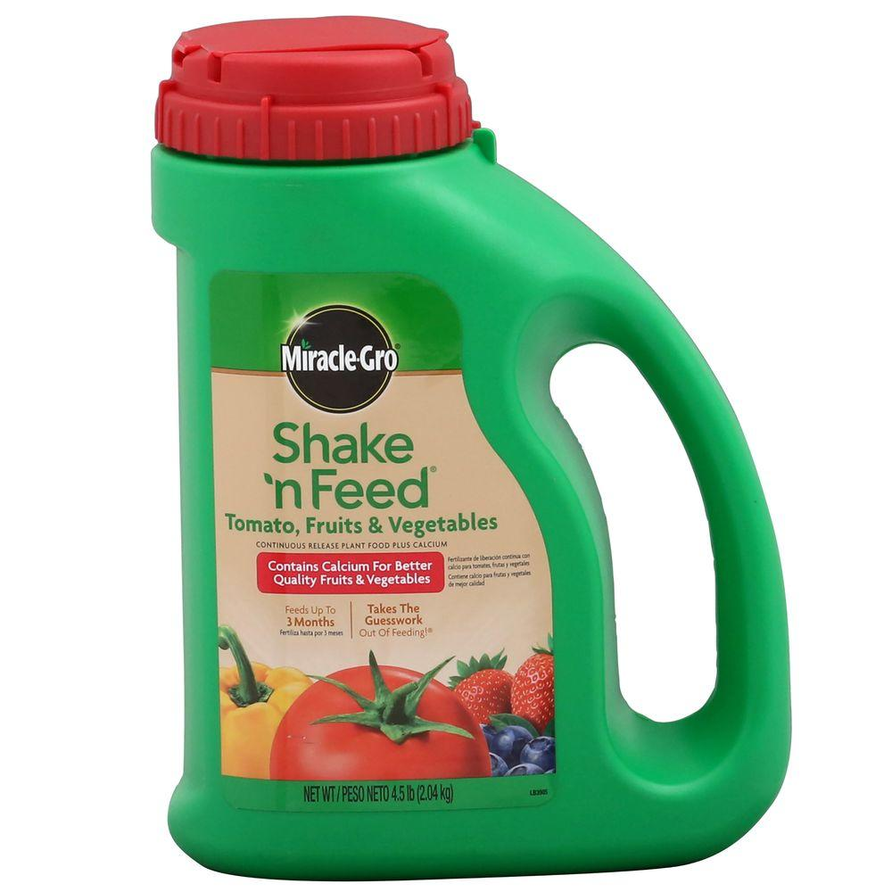 Miracle gro shake n feed 45 lb tomato fruit and vegetable plant tomato fruit and vegetable plant workwithnaturefo