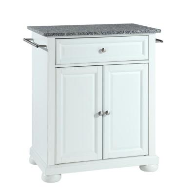 Alexandria White Kitchen Island