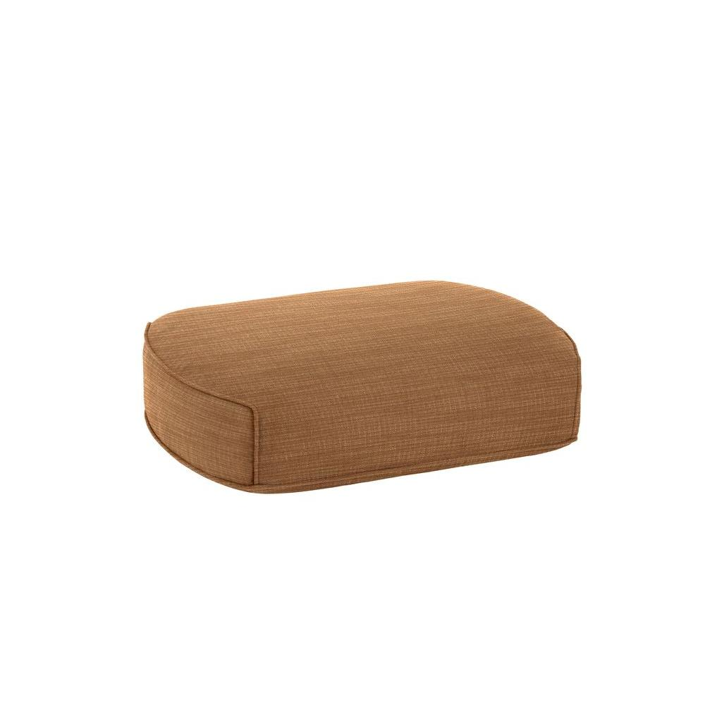 Highland Replacement Outdoor Ottoman Cushion in Toffee
