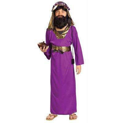 Boy's Purple Wiseman Costume