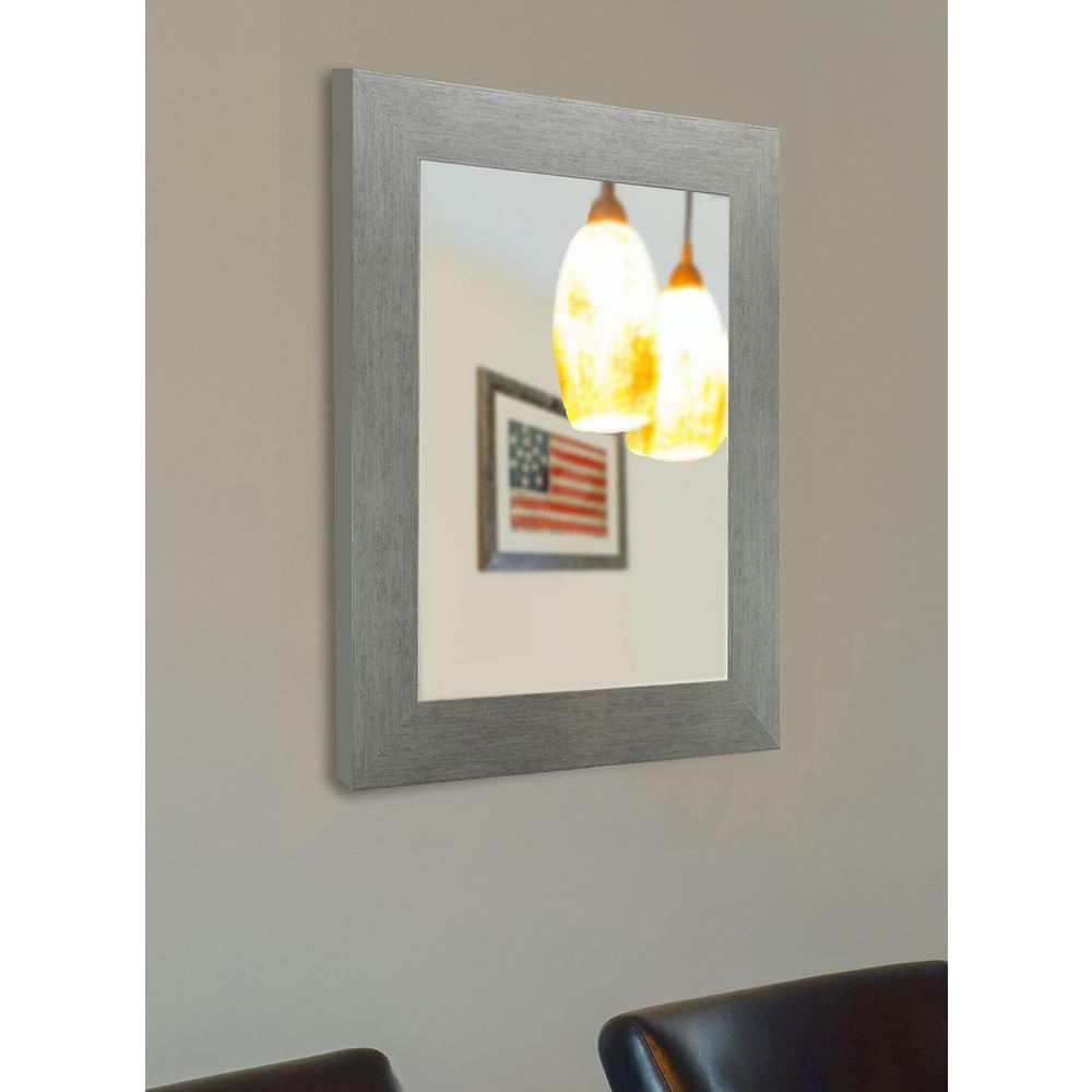 48 in x 36 in yukon silver vanity wall mirror v084 30 5 for Mirror 42 x 36