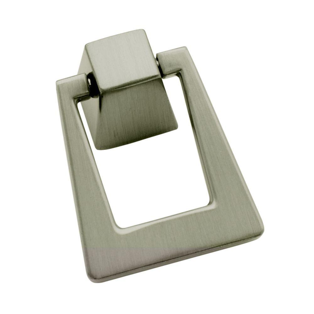 Satin Nickel Pendant Cabinet Pull