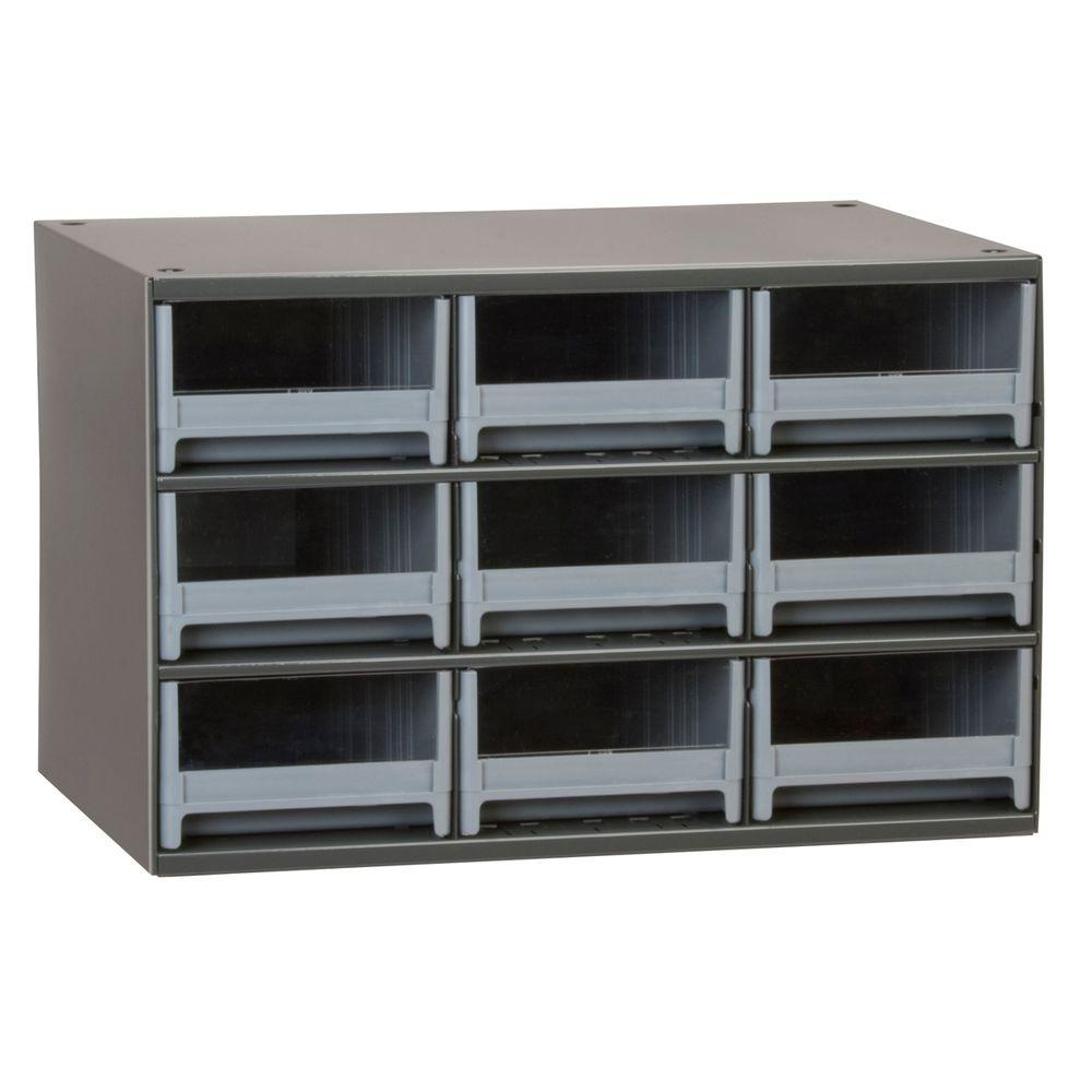 akro mils steel small parts storage cabinet Akro Mils 9 Drawer Small Parts Steel Cabi19909   The Home Depot akro mils steel small parts storage cabinet