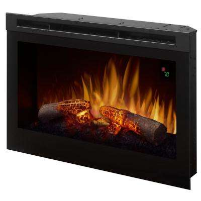 25 in. Electric Firebox Fireplace Insert