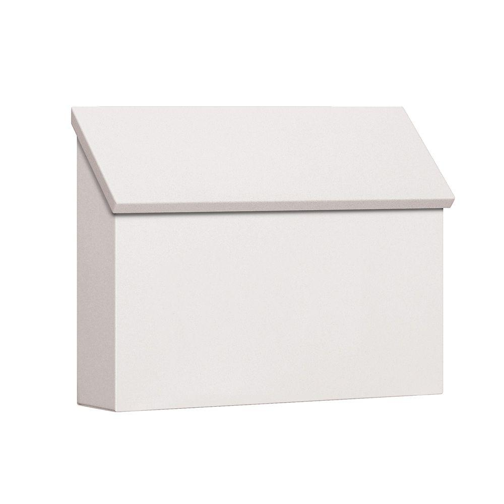 Salsbury Industries 4600 Series White Standard Horizontal Traditional Mailbox