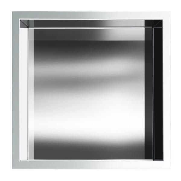 Showroom Series 12 in. x 12 in. Stainless Steel Shower Niche in Polished Chrome