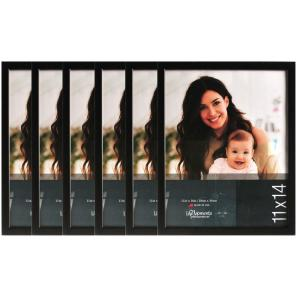Pinnacle 6-Opening 11 inch x 14 inch Picture Frame by Pinnacle