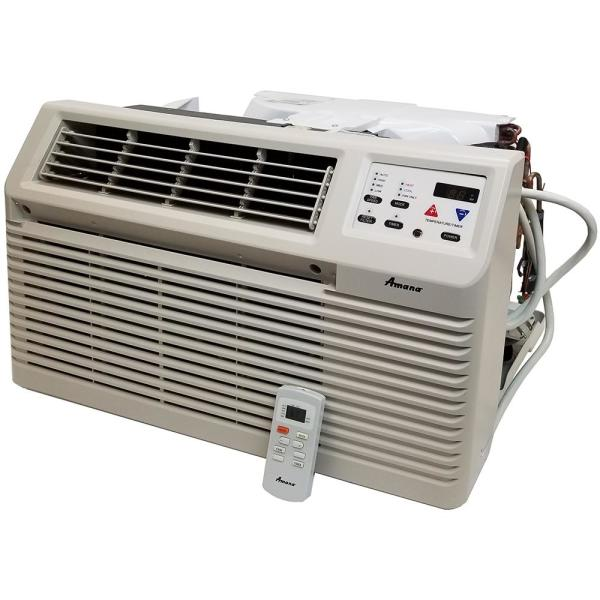 11,800 BTU 115-Volt Through-the-Wall Air Conditioner with Remote