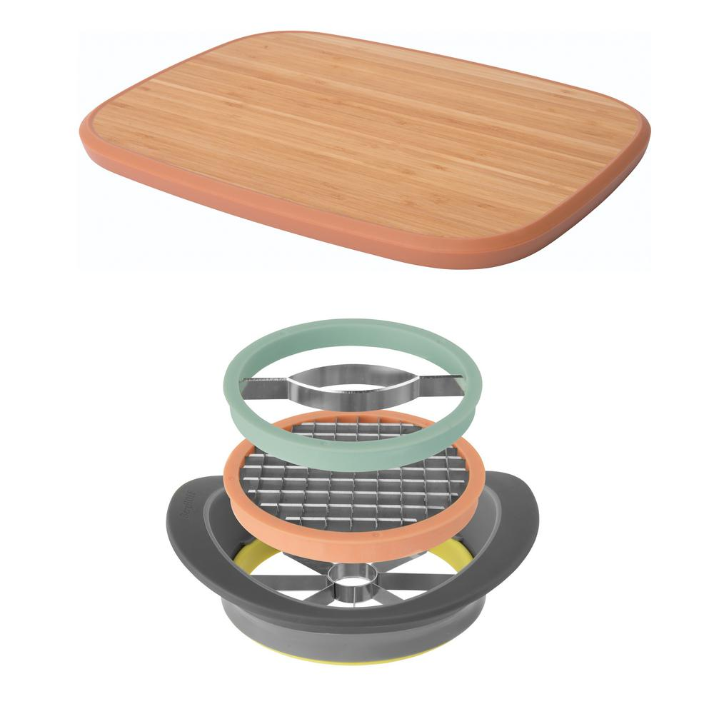 Leo All-in-one Slicer Set and Large Cutting Board