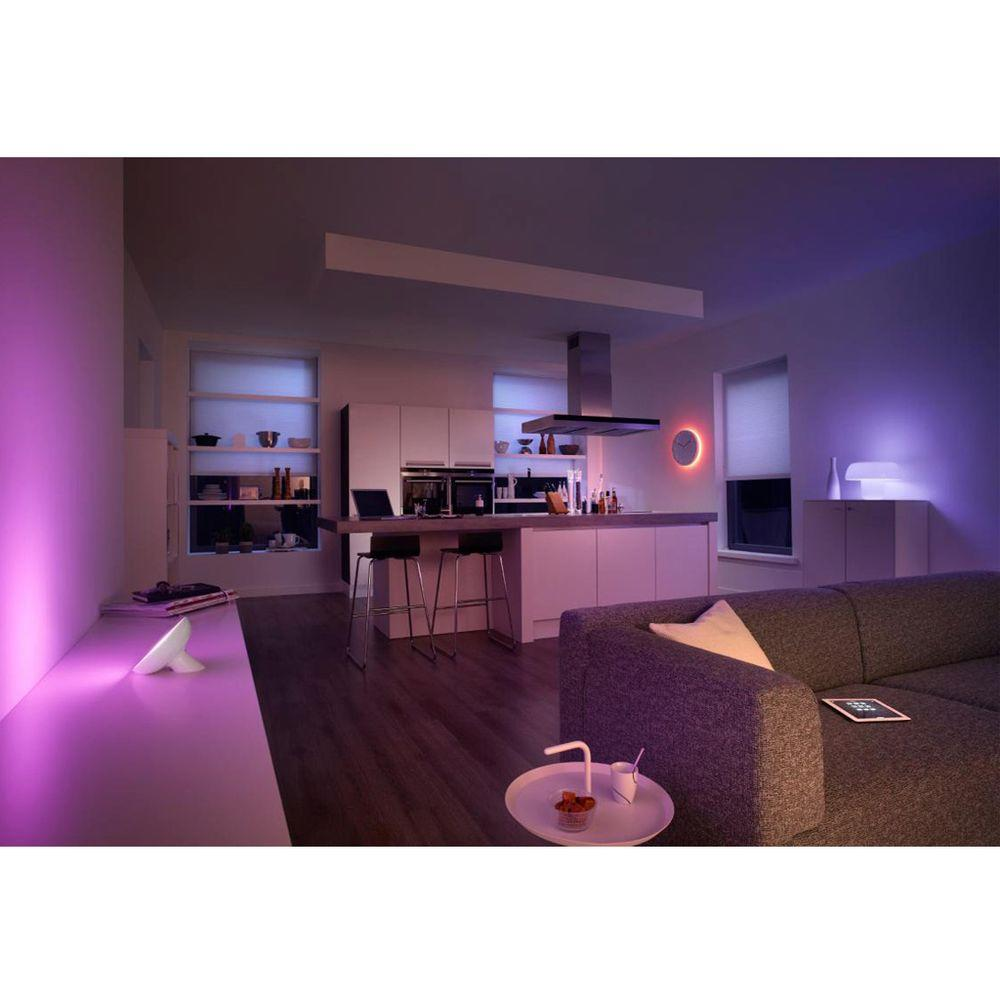 Philips Hue White and Color Ambiance LED Bloom Dimmable Smart Table Lamp