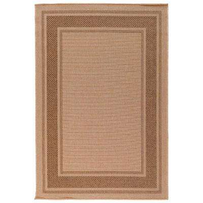 Vineyard Cayden Natural 5 ft. x 7 ft. Indoor/Outdoor Area Rug