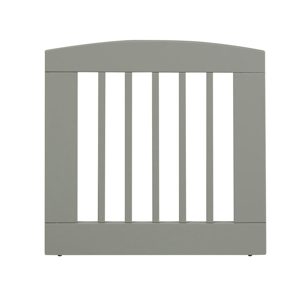 Ruffluv 24 in. H Wood Single Panel Grey Pet Gate