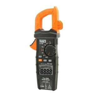 Klein Tools 600 Amp AC True RMS Auto-Ranging Digital Clamp Meter with Temp by Klein Tools