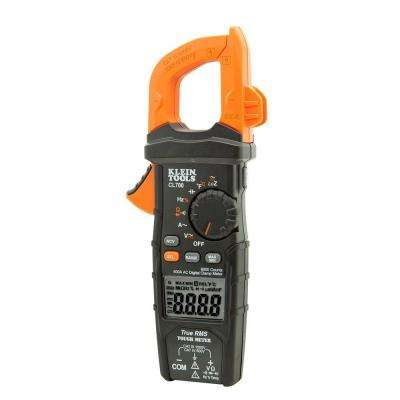 600 Amp AC True RMS Auto-Ranging Digital Clamp Meter with Temp