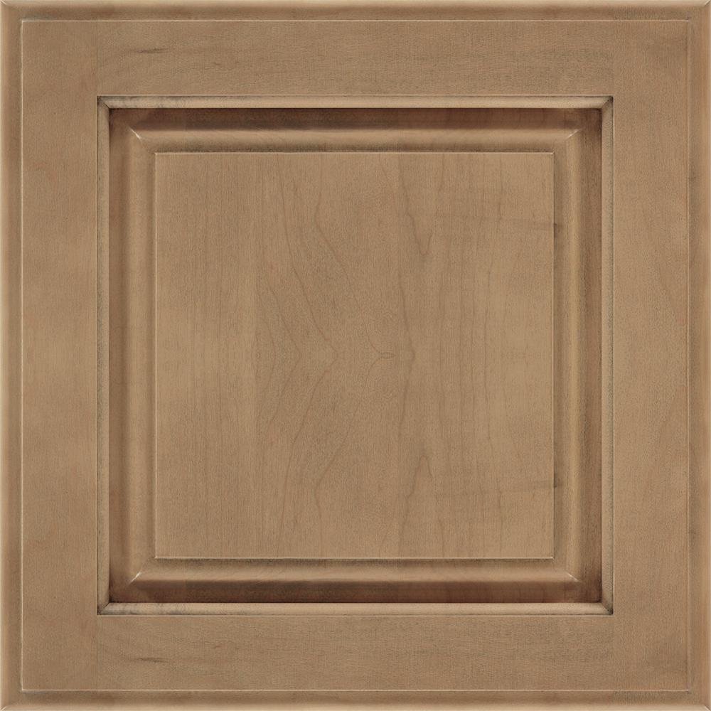 14.5x14.5 in. Cabinet Door Sample in Huchenson Gunny
