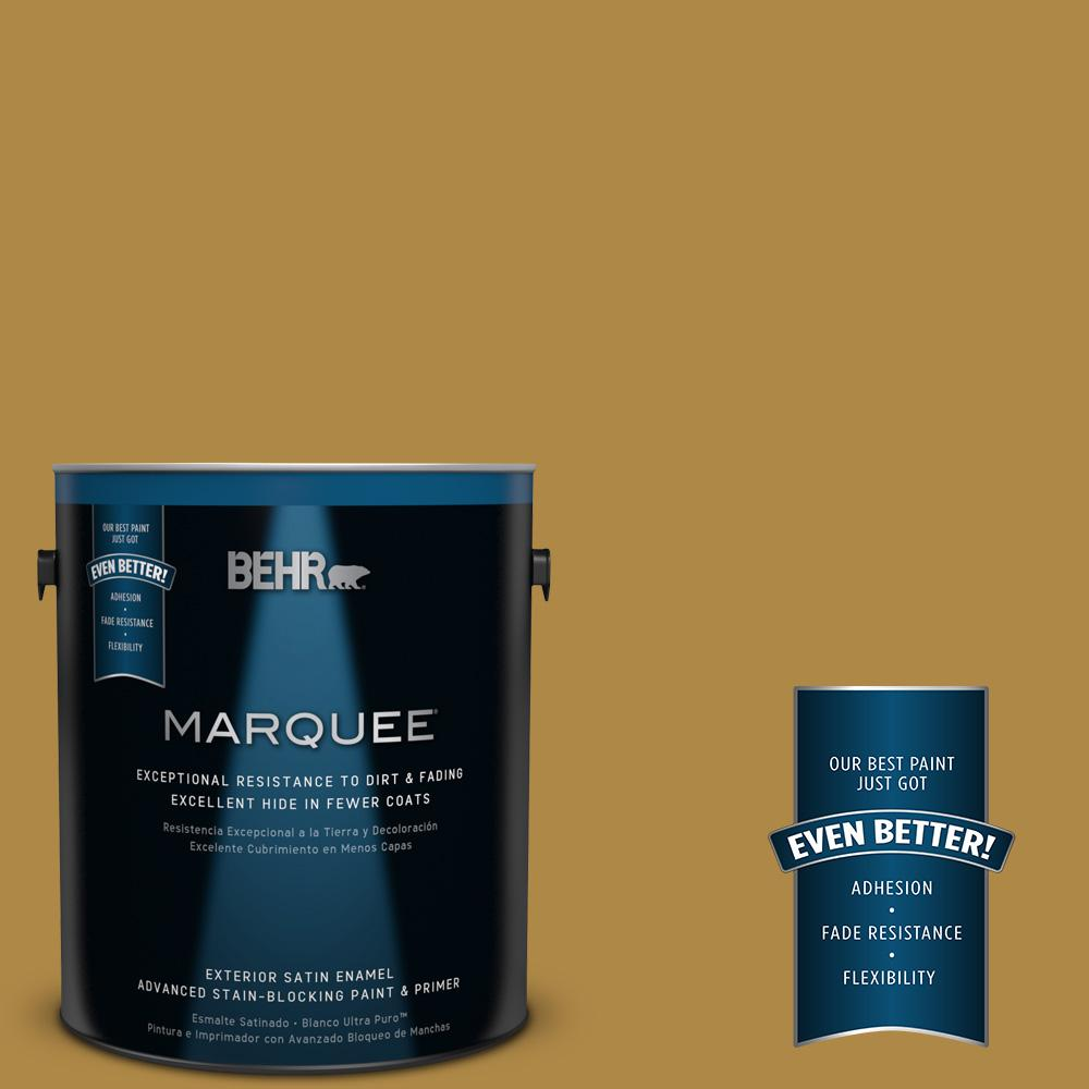 BEHR MARQUEE 1-gal. #M300-6 Indian Spice Satin Enamel Exterior Paint