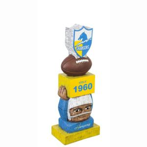 new products ed846 1ab26 Team Sports America Los Angeles Chargers NFL Vintage Team Garden  Statue-84V3825TT - The Home Depot
