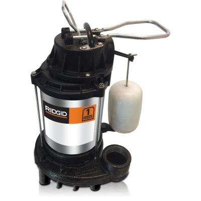 1 HP Cast Iron Dual Suction Sump Pump