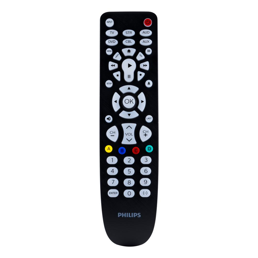 Philips 6 Device Backlit Universal Remote Control In