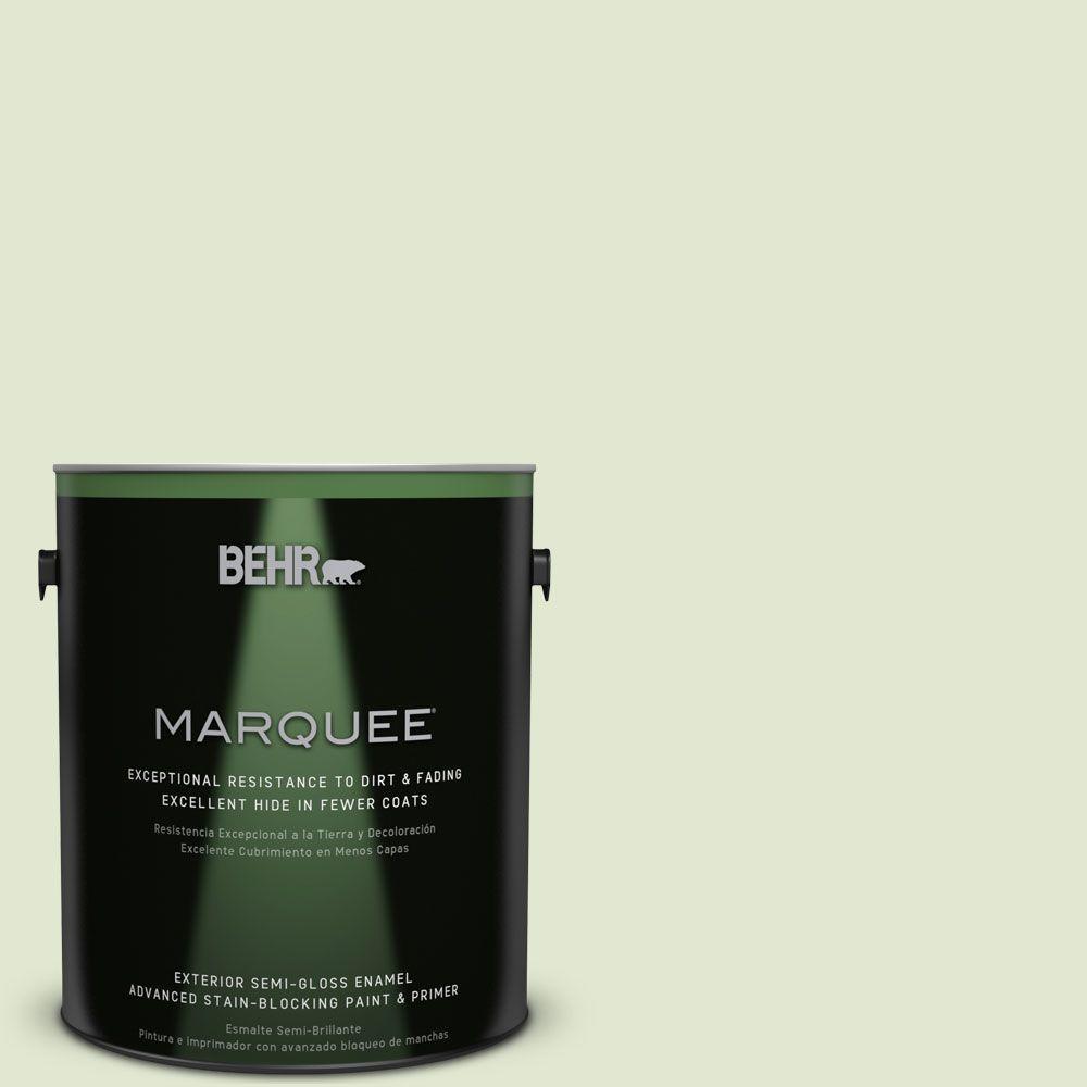 1-gal. #M360-2 White Radish Semi-Gloss Enamel Exterior Paint