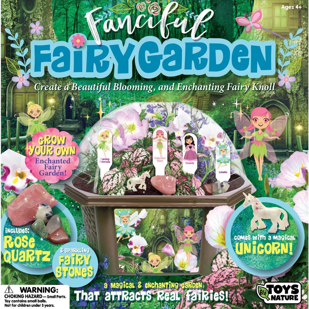 Biosphere Clear Plastic Fanciful Fairy Garden Indoor Garden