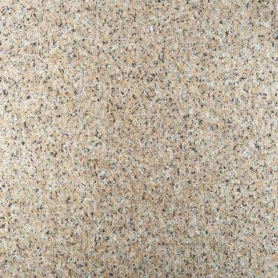 3 in. Granite Countertop Sample in Beige Butterfly
