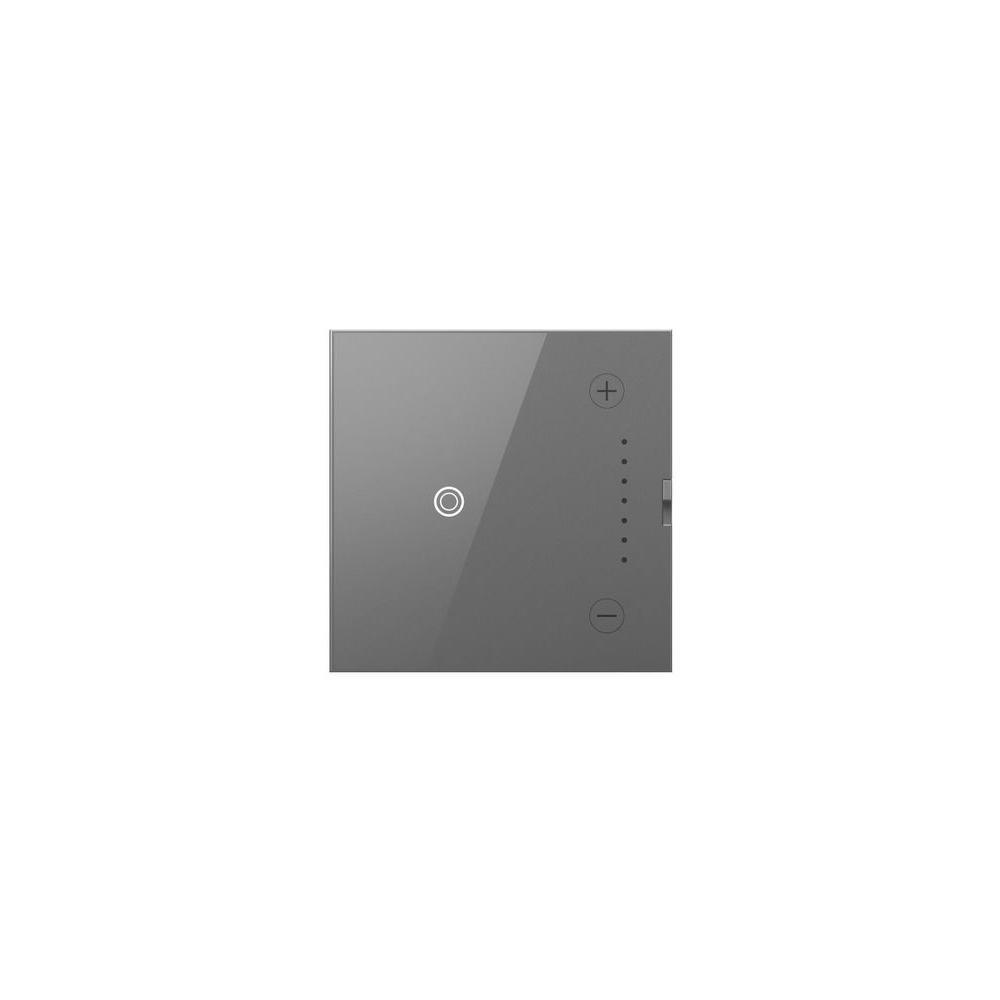 Legrand adorne 700-Watt Multi-Location Master Universal Touch Dimmer, Magnesium