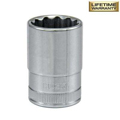 1/2 in. Drive 19 mm 12-Point Metric Deep Socket