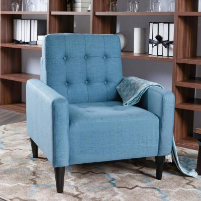 Turquoise Blue Chairs Living Room Furniture The Home Depot