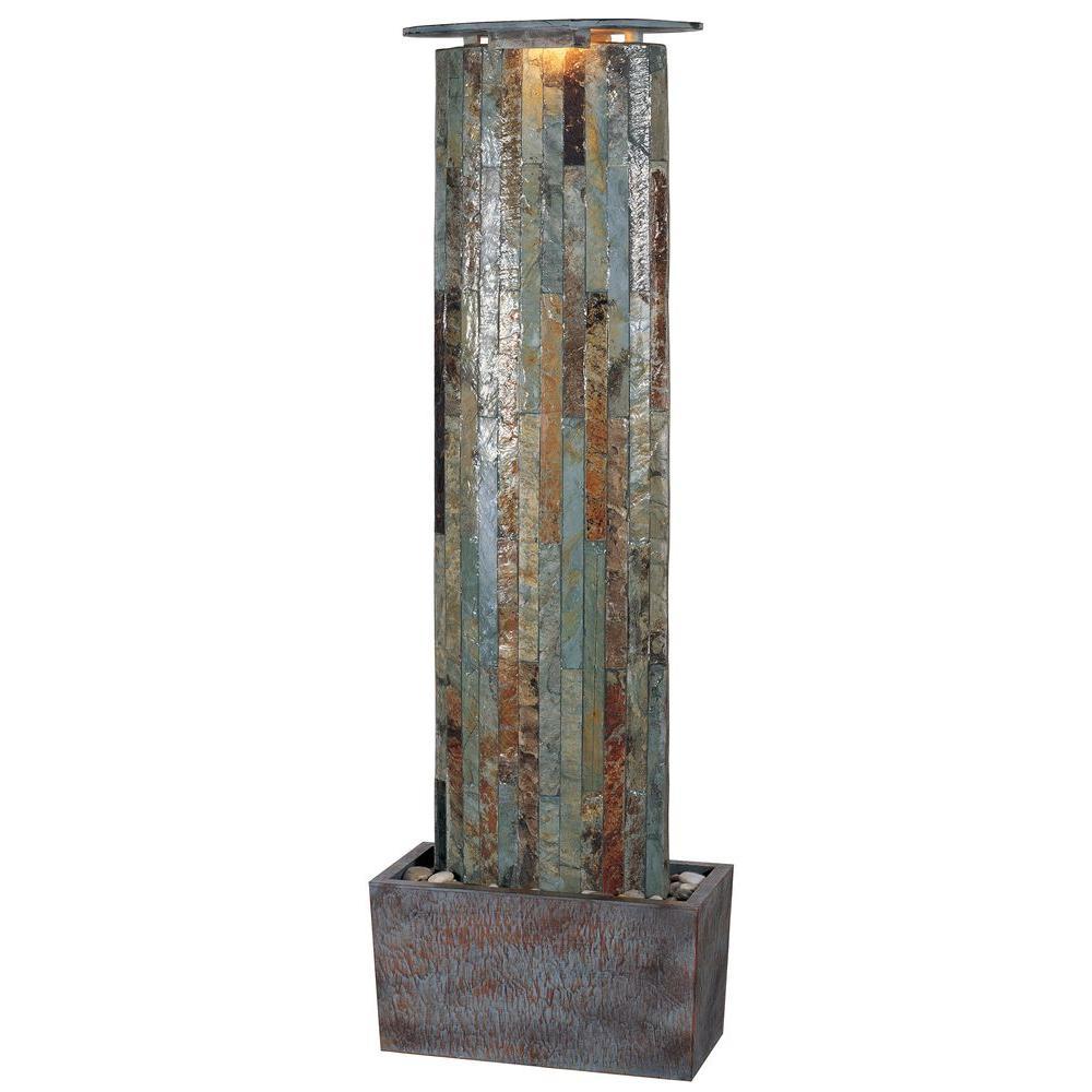 49 in. Waterwall Indoor/Outdoor Fountain