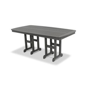 Trex Outdoor Furniture Yacht Club 37 inch x 72 inch Stepping Stone Patio Dining Table by Trex Outdoor Furniture