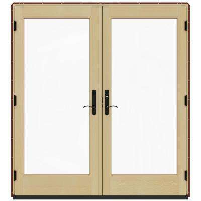 71 x 80 jeld wen double door patio doors exterior doors 72 in x 80 in w 4500 mesa red prehung left hand planetlyrics Image collections