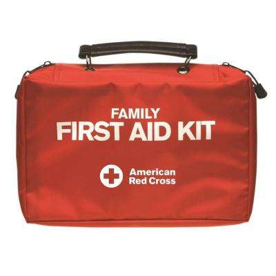 115-Piece Soft-Sided Deluxe Family First Aid Kit