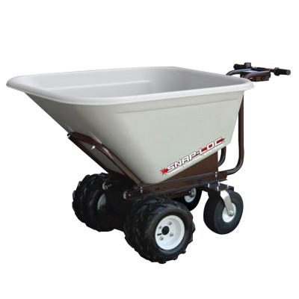 10 cu. ft. Capacity 4-Wheel All-Terrain Power Cart